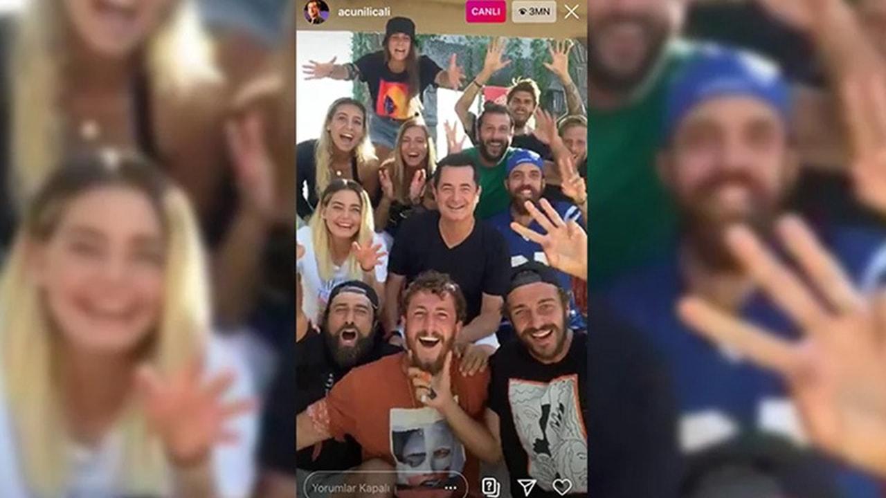 Acun Ilıcalı, Instagram canlı yayın rekorunu kırdı