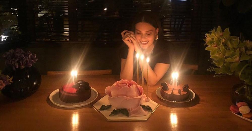 Ünlü oyuncu Aslı Enver'in doğum günü paylaşımı