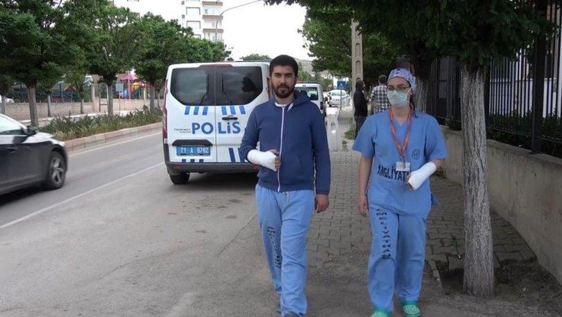 Kırıkkale'de iki doktor darp edildi