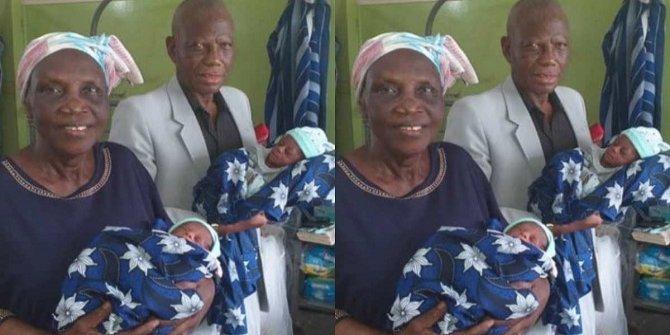 Nijerya'da 68 yaşındaki bir kadın ikiz doğurdu