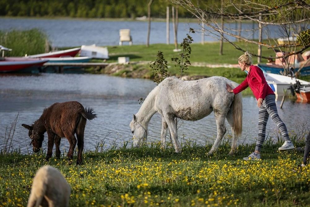 Uludağ'ın eteklerinde sosyal izolasyonlu tatil