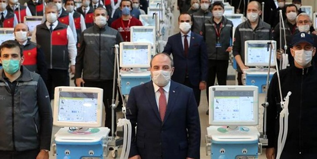 Yeni tip koronavirüs (Kovid-19) salgını sonrası Türkiye'nin ihtiyaç üzerine ürettiği yerli solunum cihazında yeni bir gelişme yaşandı.
