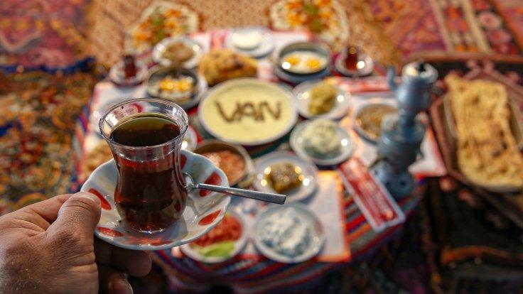 Van'dan kahvaltı günü
