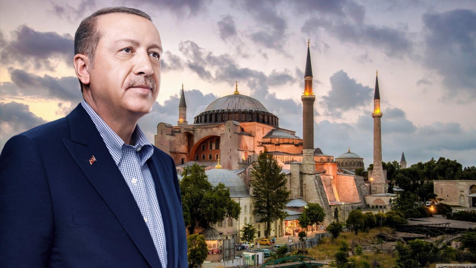 Erdoğan Ayasofya konusunda tehdit ve imalara aldırmadı