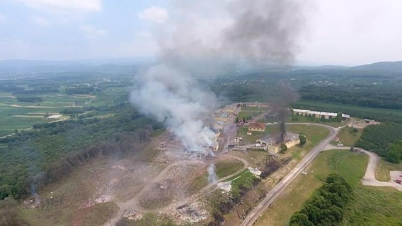 Sakarya 'da havai fişek fabrikasında patlama! 4 kişi hayatını kaybetti 97 yaralı