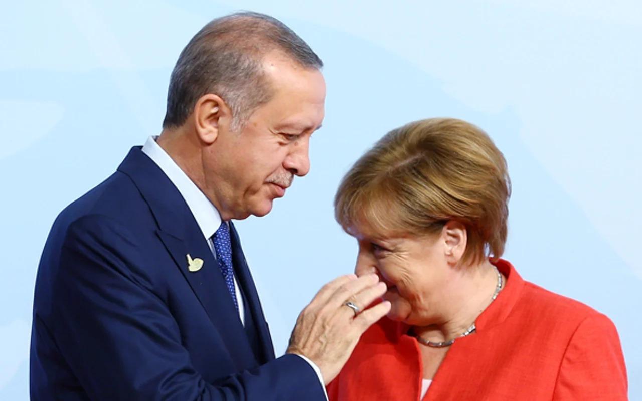Erdoğan-Merkel telefonda konuştu