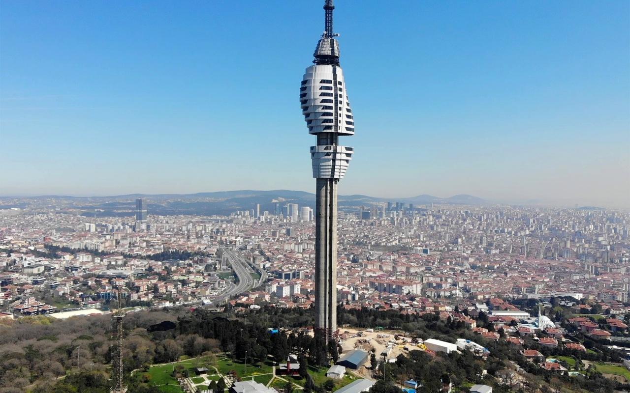 Çamlıca'nın şık kulesi yakında hizmete giriyor