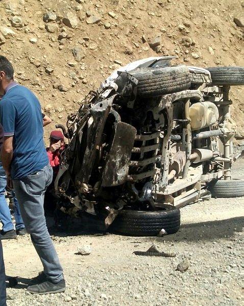 Hakkari'de korkunç kazada 6 vatandaşımız hayatını kaybetti