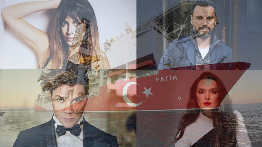 """Sanatçıların Karadeniz'de bulunan """"doğalgaz"""" müjdesine yorumu ne oldu?"""