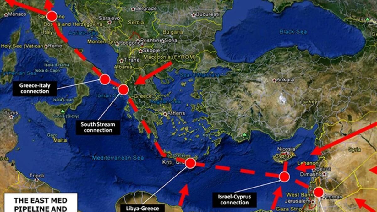 Doğu Akdeniz'de emperyalist birliğin artık bir adı var!