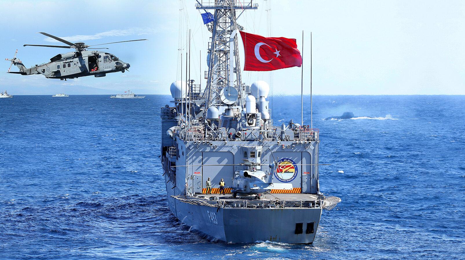 6-10 Eylül arası Akdeniz'de Türkiye ve KKTC ortak tatbikat düzenliyor