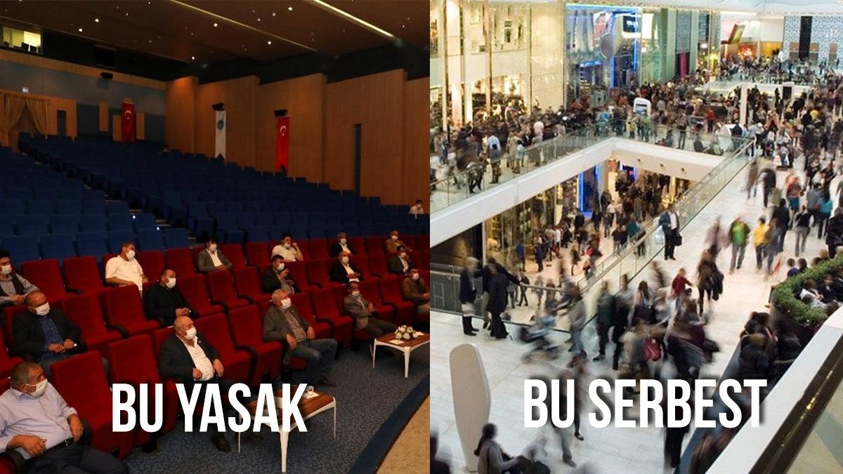 İstanbul'da sanat etkinliklerinin iptaline ilişkin karar ünlülerden tepki gördü