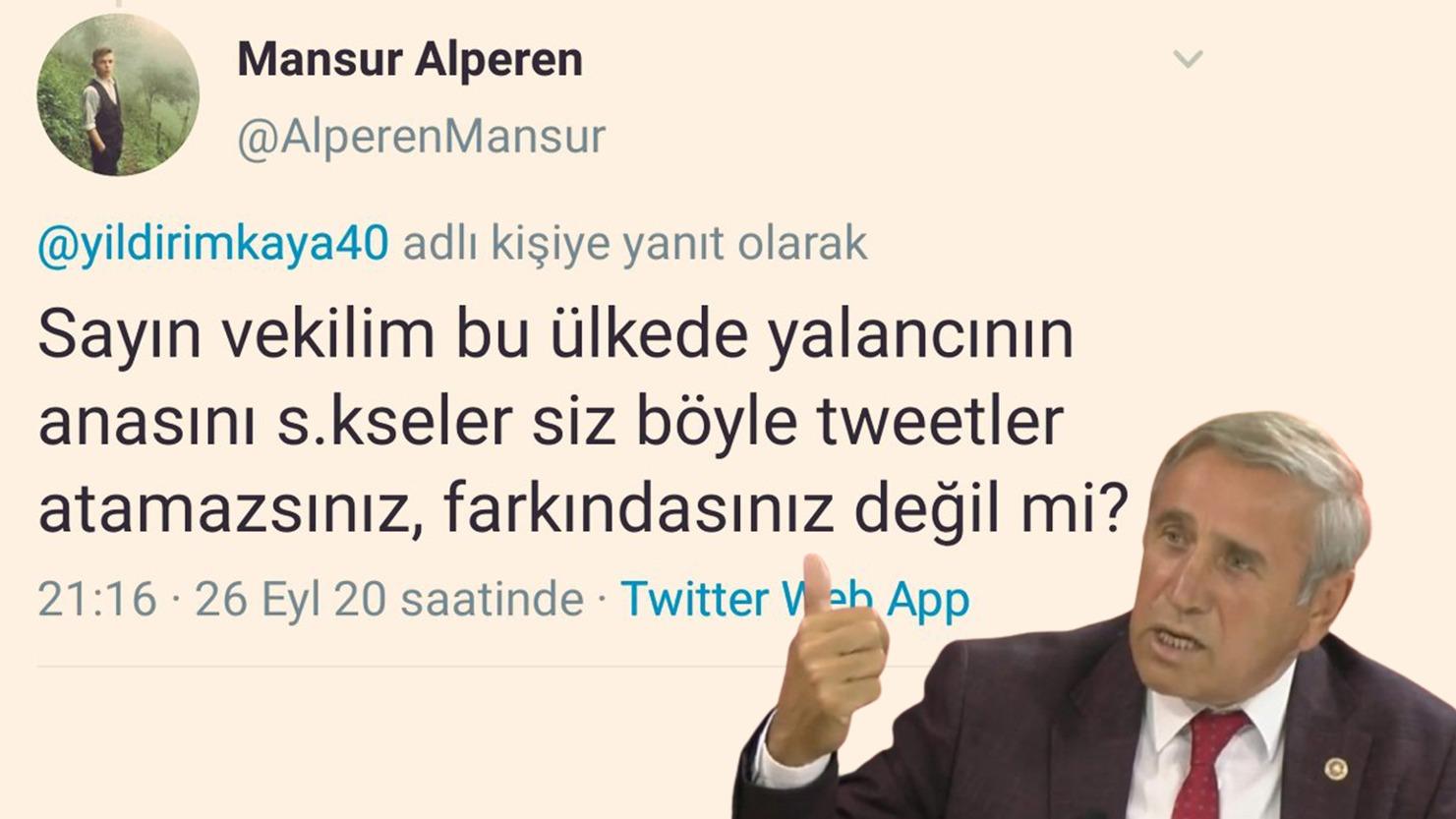 CHP Milletvekiline uygunsuz yaklaşım!