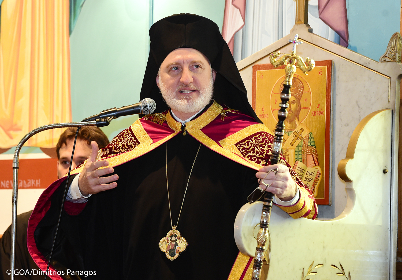 ABD Başpsikoposu Elpidophoros Mike Pompeo'ya Türkiye'yi şikayet etti!
