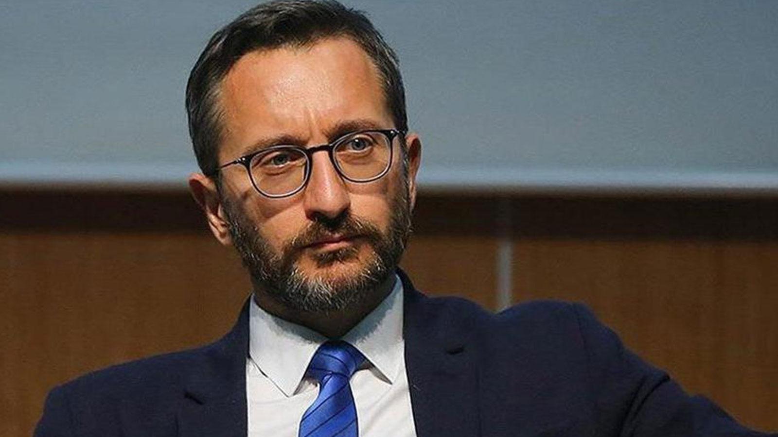 """Fahrettin Altun: """"teröre içerde ve dışarda en sert cevabı vereceğiz"""" dedi"""