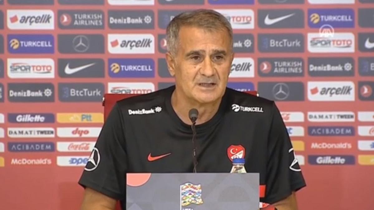 Şenol Güneş Macaristan maçı öncesi açıklamada bulundu