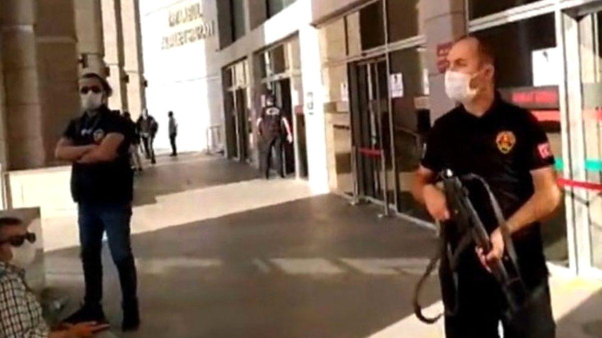 SON DAKİKA! İstanbul çağlayan Adliyesi önünde silah sesleri…