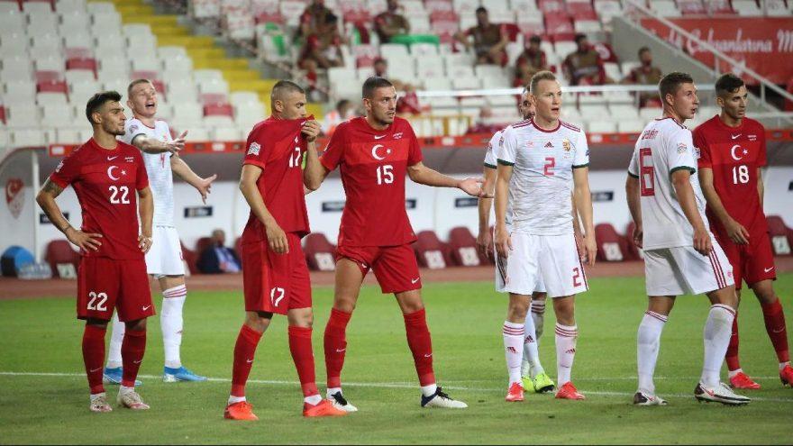 A Milli Futbol Takımı Uluslar Ligi'ne buruk başladı