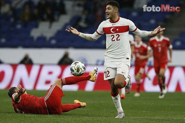 Rusya maçına damga vuran yıldız!
