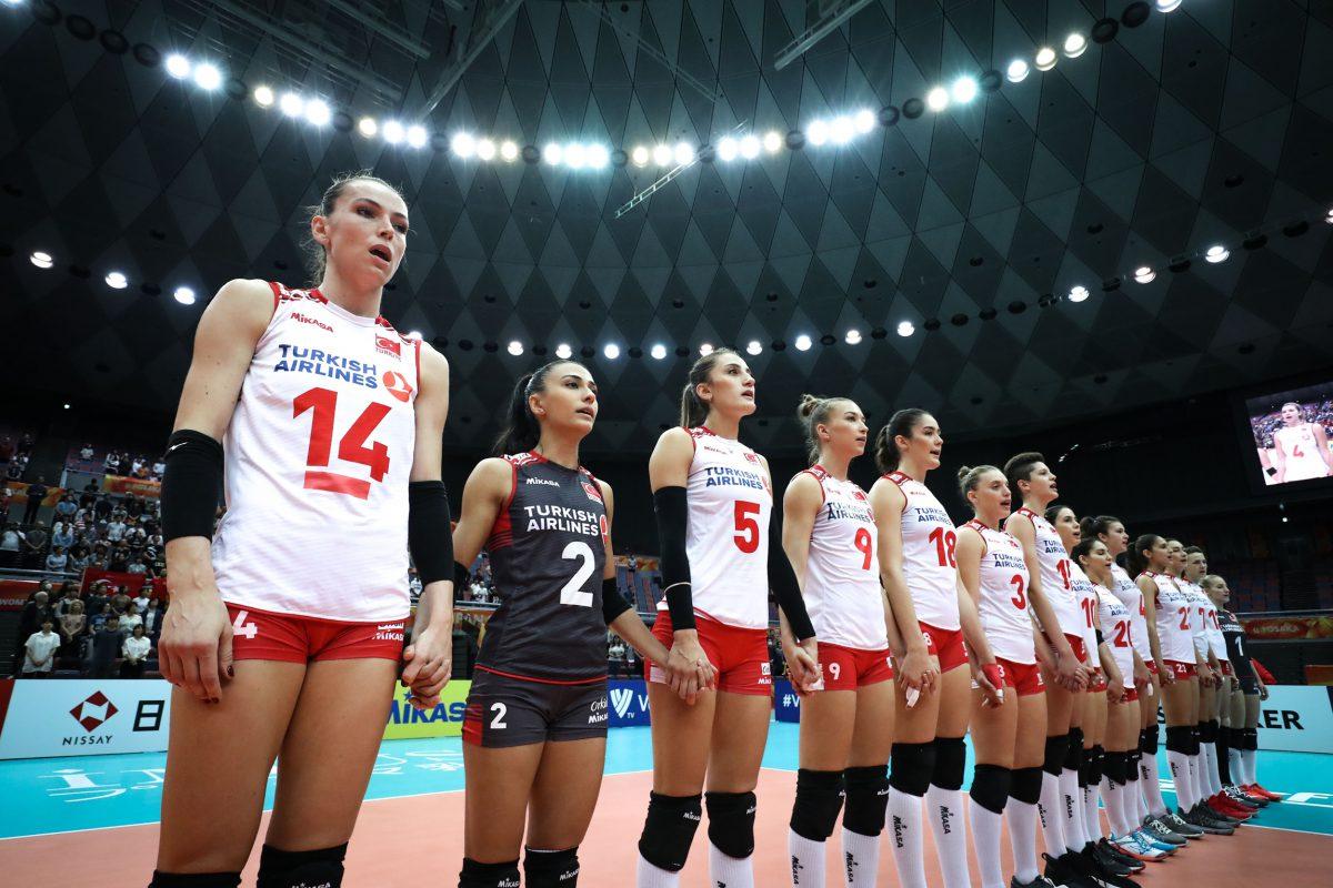 Namağlup Milli Kız Voleybol Takımımız yarın final için Rusya ile karşılaşacak!