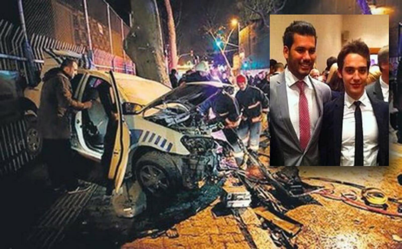 Sinan Çetin'in küçük oğlu da alkollü araç kullanırken yakalandı!
