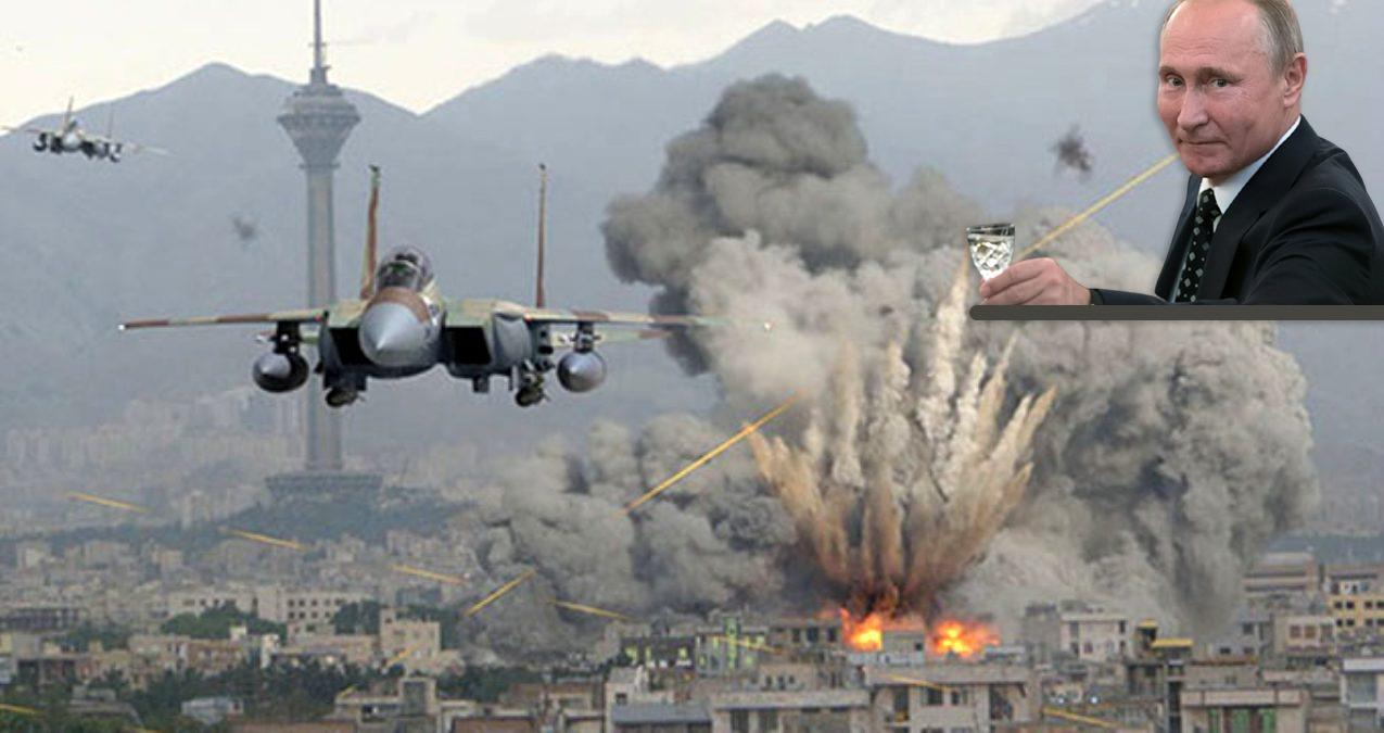 Rusya sıcak deniz için cana kıymaya devam ediyor! İdlib'e Hava bombardımanı yapıldı!