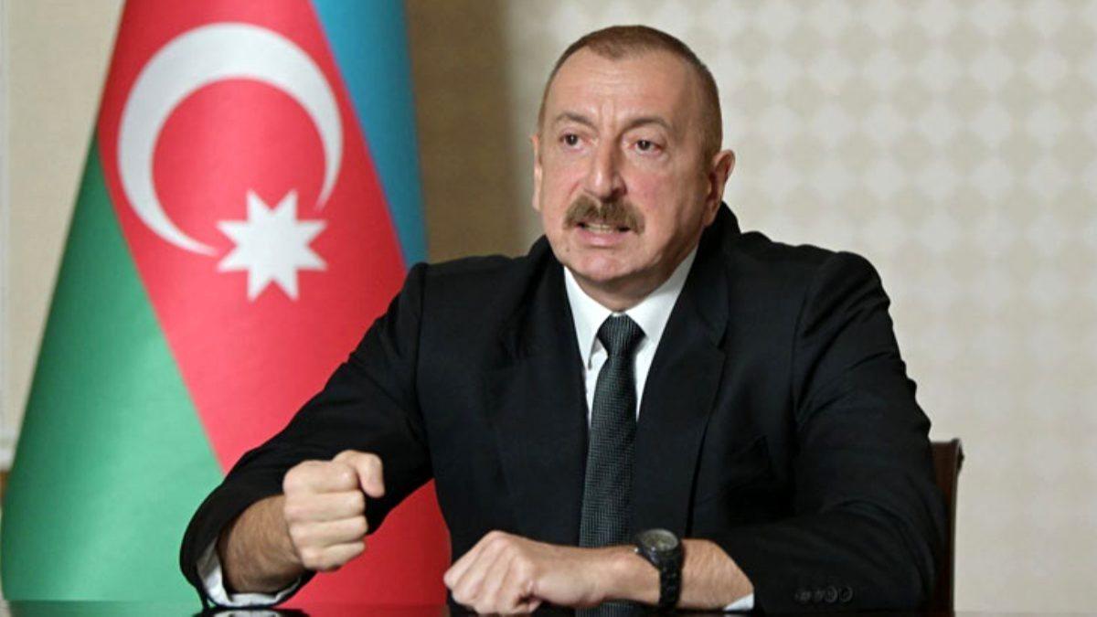 Aliyev Ermenistan'ın çarpık askeri sistemini anlattı!