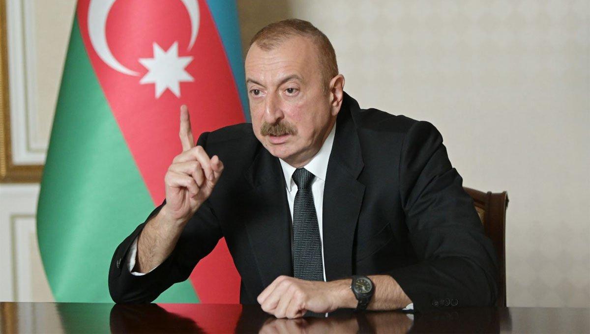 Aliyev uyardı!