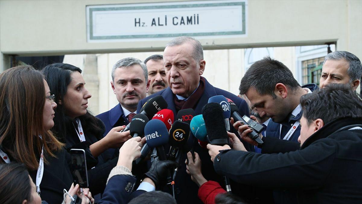 """Erdoğan: """"Kanal İstanbul projesi birinci önceliklidir; durmaz!"""