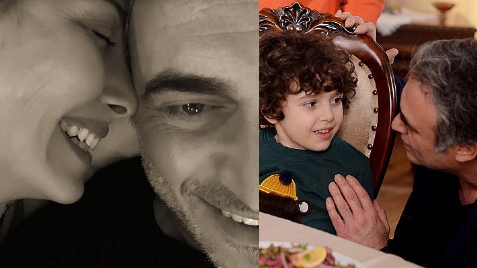 Rol aldığı dizideki çocuk oyuncunun annesiyle aşk!