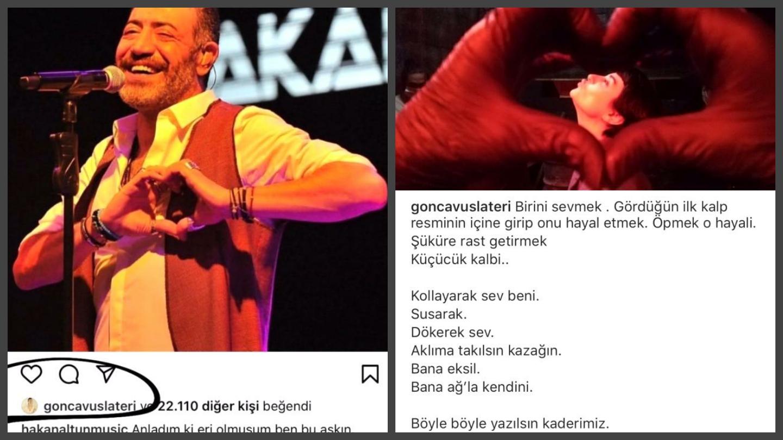 Ajda Pekkan ile adı anılan Hakan Altun Gonca Vuslateri ile aşk yaşıyormuş!