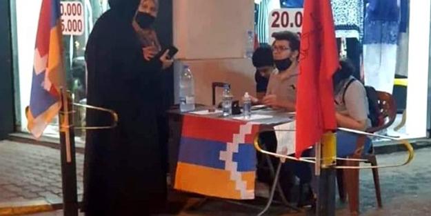 Lübnan'da Ermenistan için  ve asker toplama masaları kuruldu!