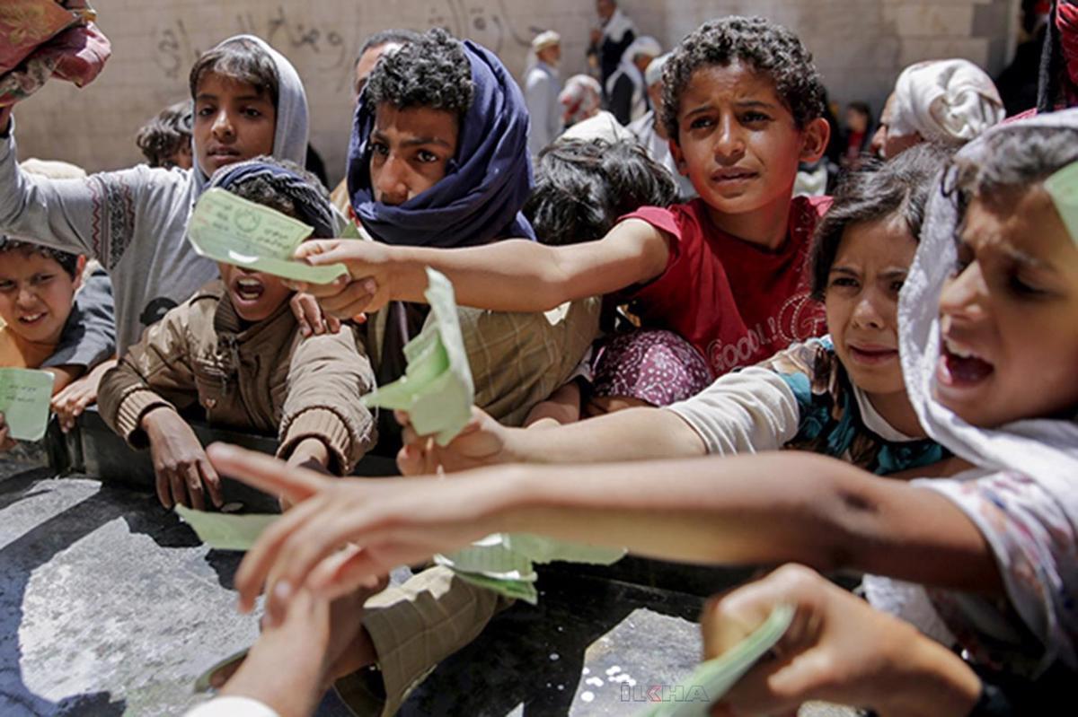 Yemen açlığın pençesinde!  Durum daha da kötüye gidiyor!