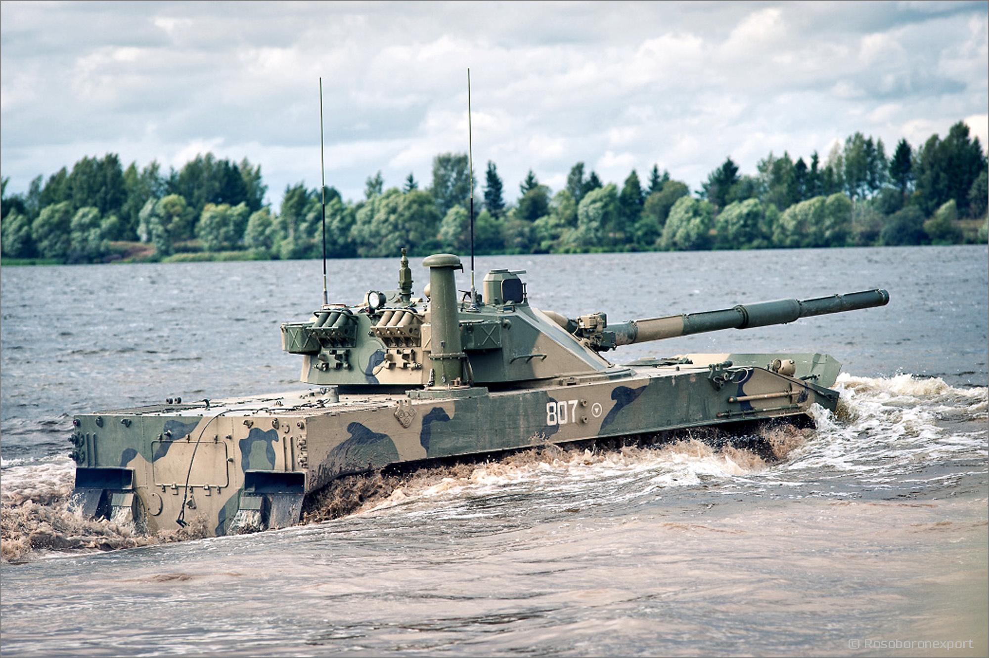 Rusya ABD'ye uçan tankını gösterdi!