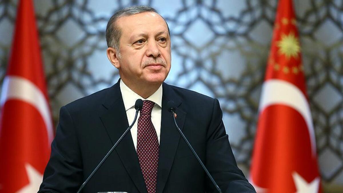 Erdoğan canlı yayında