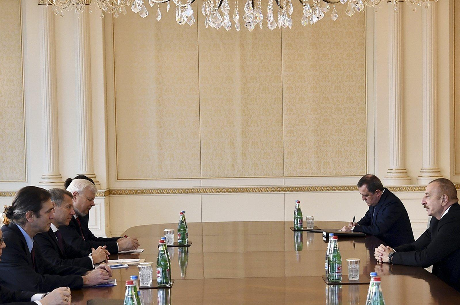Aliyev MİNSK Grubuna ders verdi!