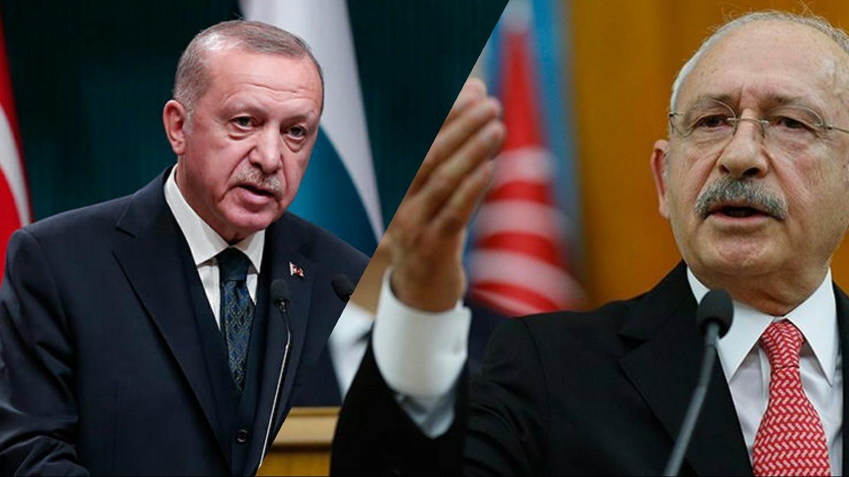 Erdoğan Kılıçdaroğlu'na tazminat davası açtı!