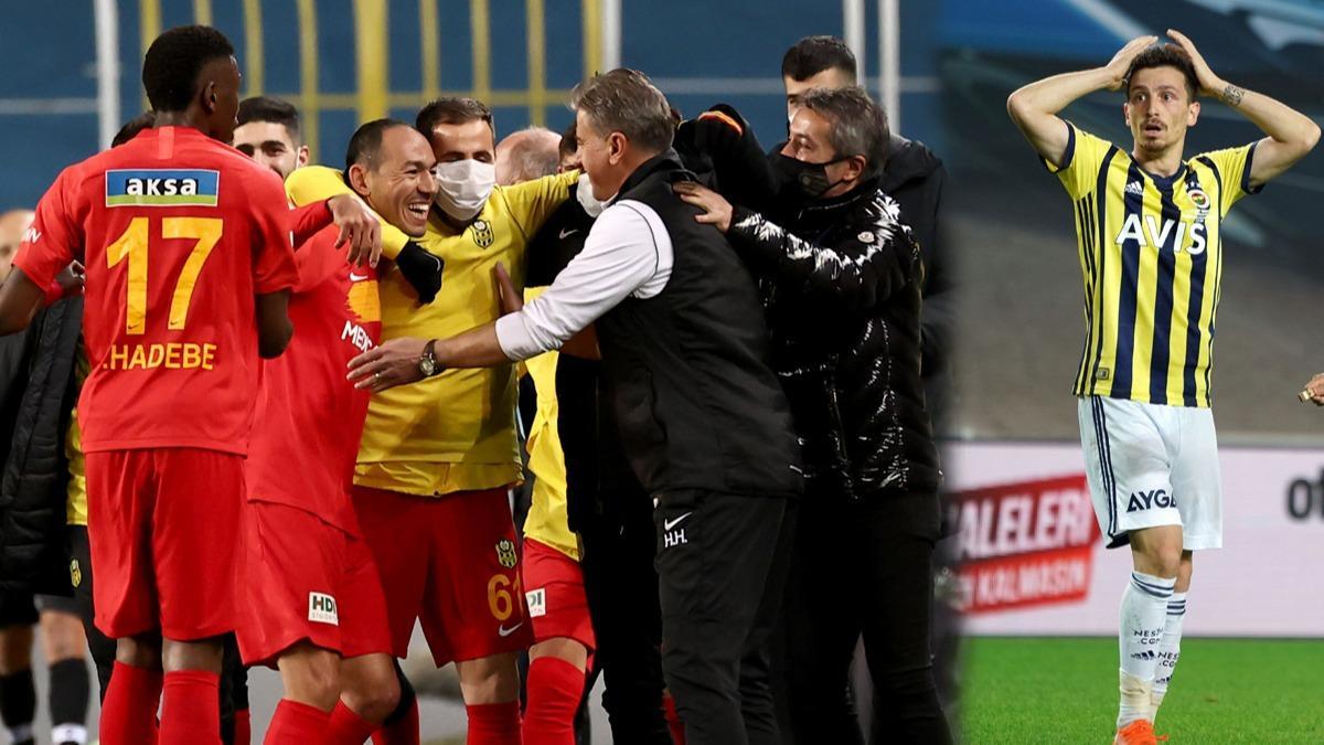Fenerbahçe Yeni Malatyaspor ağır yenilgi aldı!