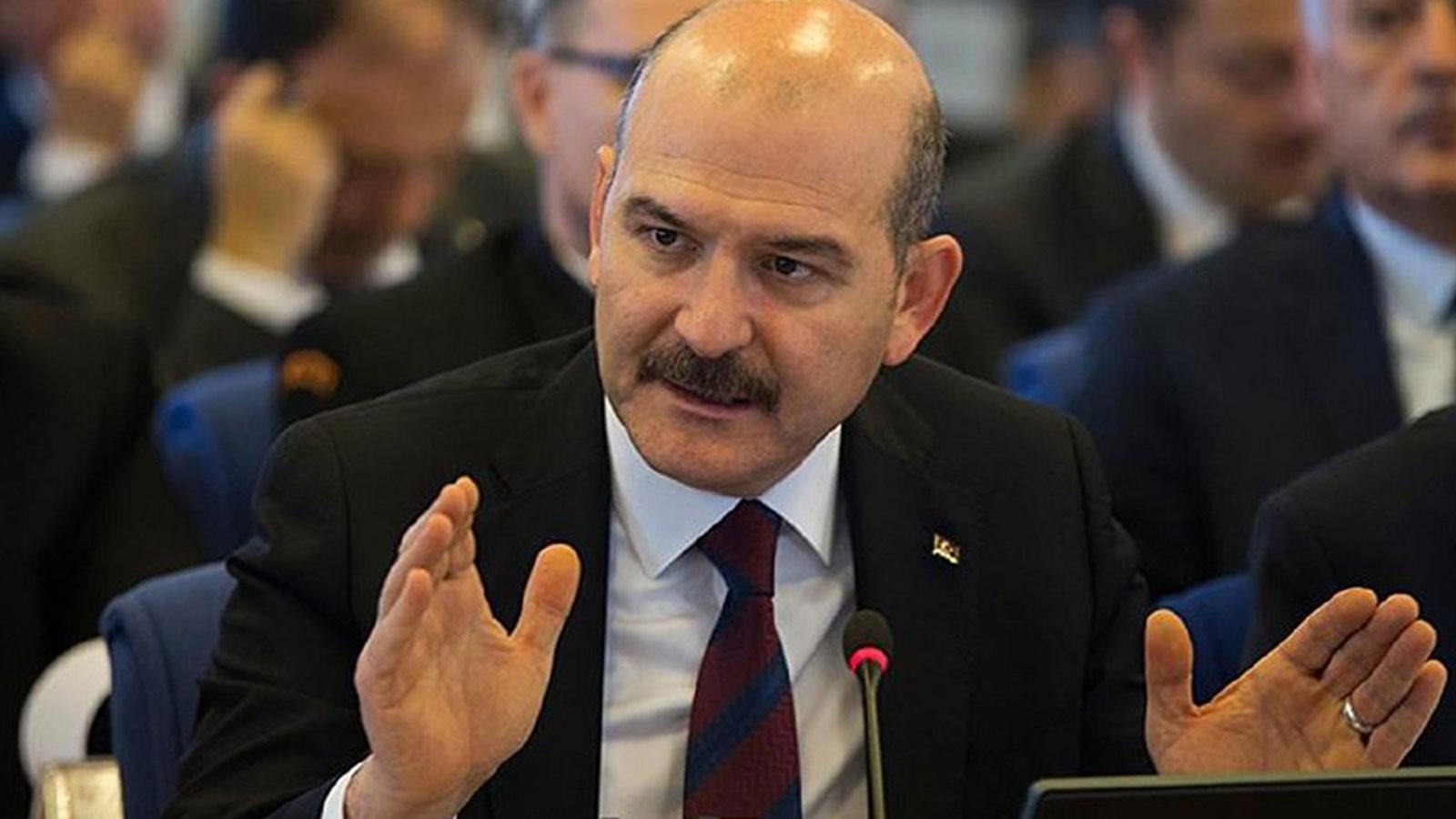 Süleyman Soylu'dan adalete ince sitem!