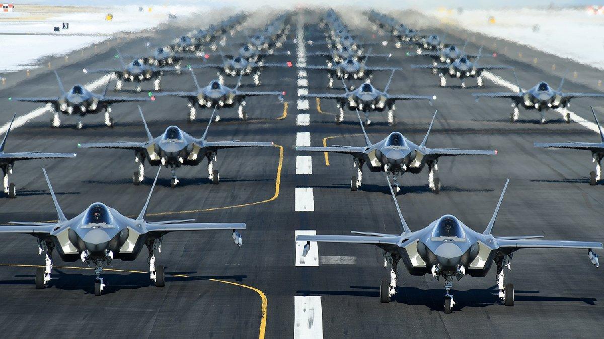 F-35'lerin üretimi ABD tarafından süresiz ertelendi!