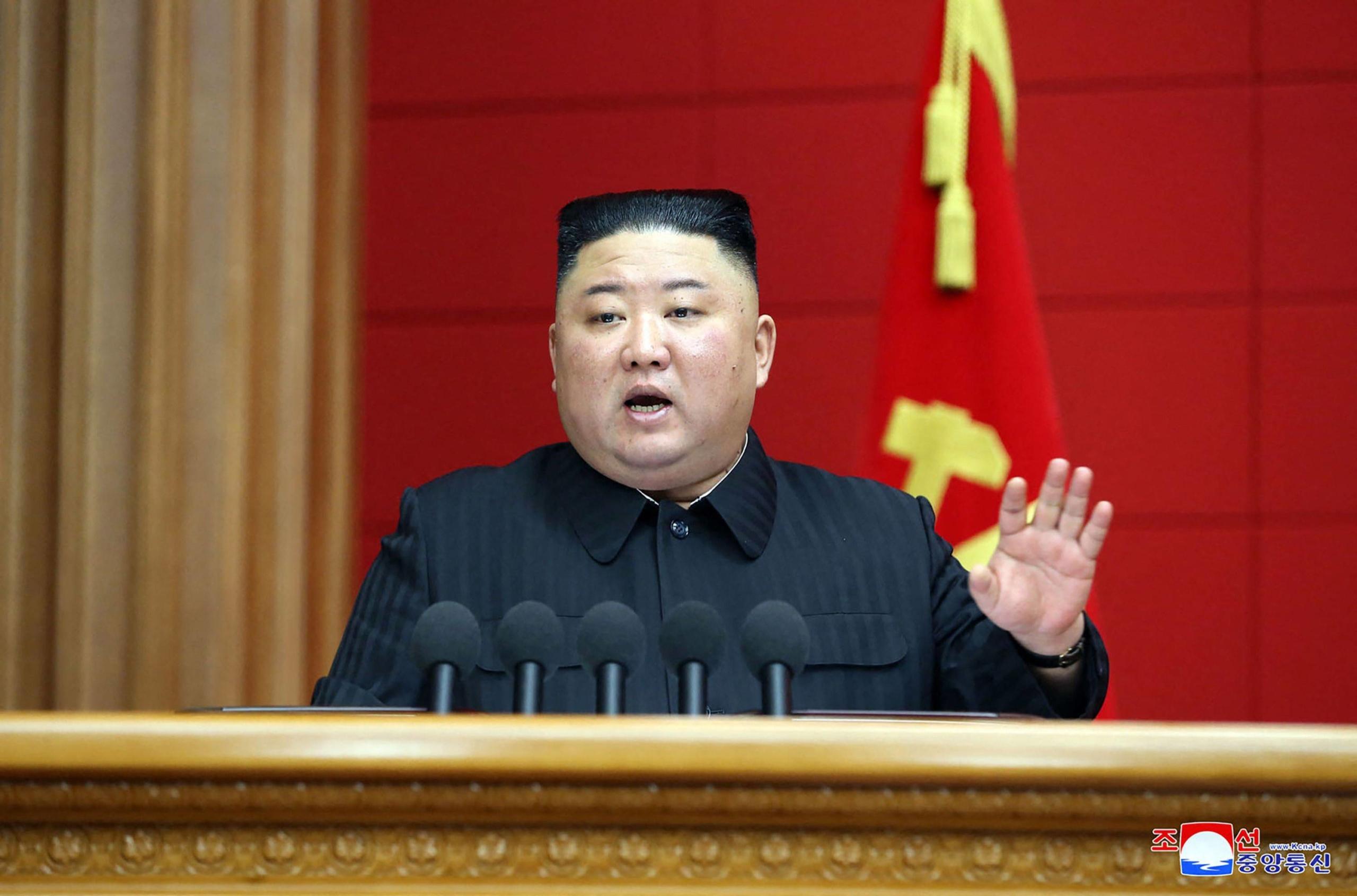 Kuzey Kore'de havlu attı!