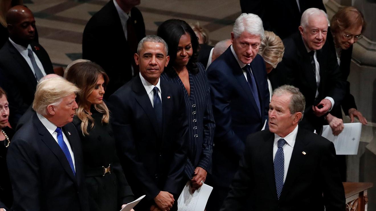 Trump George W. Bush kavgası!
